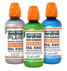 TheraBreath mouthwash oral rinse