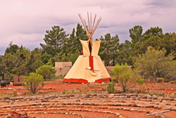 SpiritQuest Tipi at the Lodge