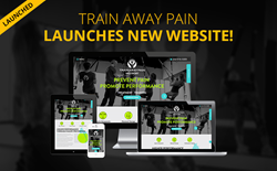 Train Away Pain New Website Design
