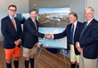 Official Groundbreaking Ceremony and Press Conference Celebrating Caroline Bay, Bermuda