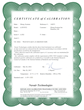 Siborg Systems NIST Traceable Certificate
