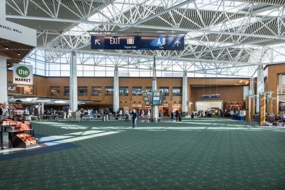 Portland International Airport Pdx Terminal Carpet