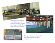 14 acres of the original iconic carpet saved from landfills.