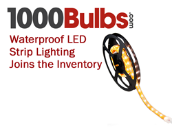 Waterproof LED Strip Lighting Joins the 1000Bulbs.com Inventory