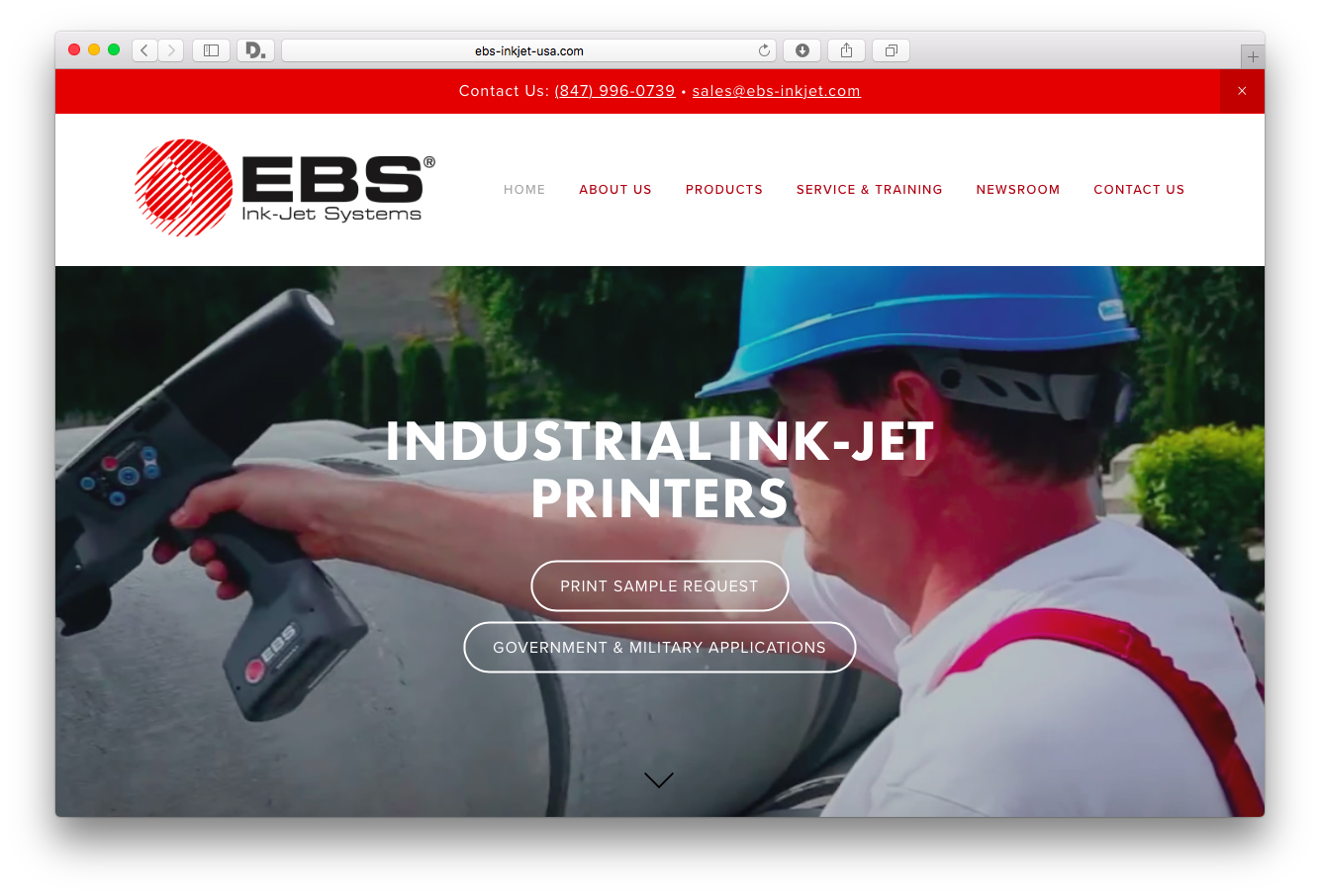 Ebs Ink Jet Systems Manufacturer Of Contact Free