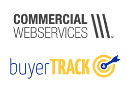 Commercial Web Services + BuyerTrack Logo