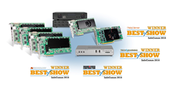 Matrox Mura IPX Series, Matrox C900, Matrox Maevex 6100 Series and Matrox Monarch LCS win Best of Show Honors at InfoComm 2016