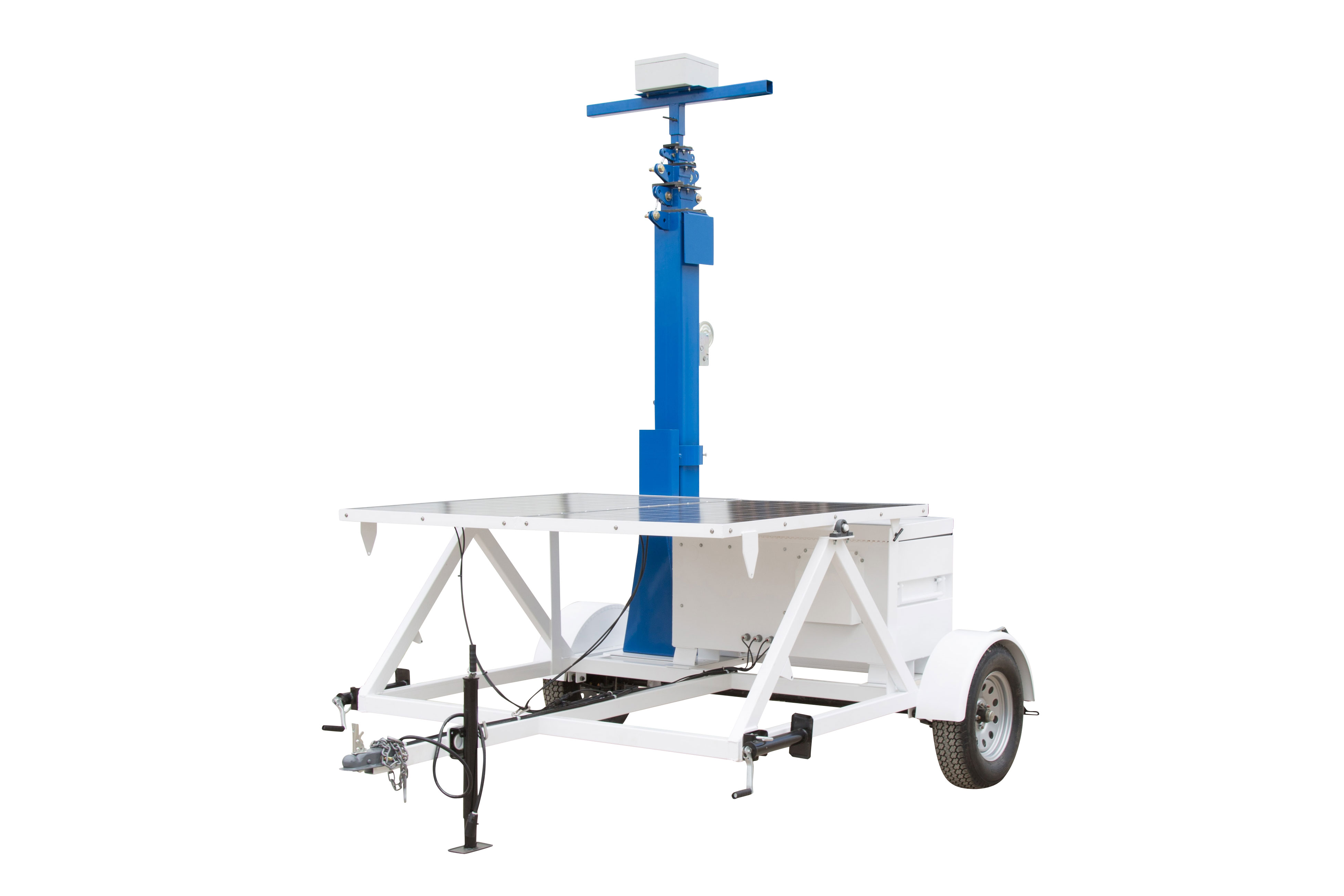 Larson Electronics Releases Portable Solar Powered Tower on Seven