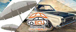 The Electronic Car Umbrella is an automobile invention perfect for vehicle owners who do not have their own covered parking spaces.