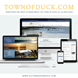 New Website Revitalizes Image of Outer Banks Tourist Destination, The Town of Duck, NC