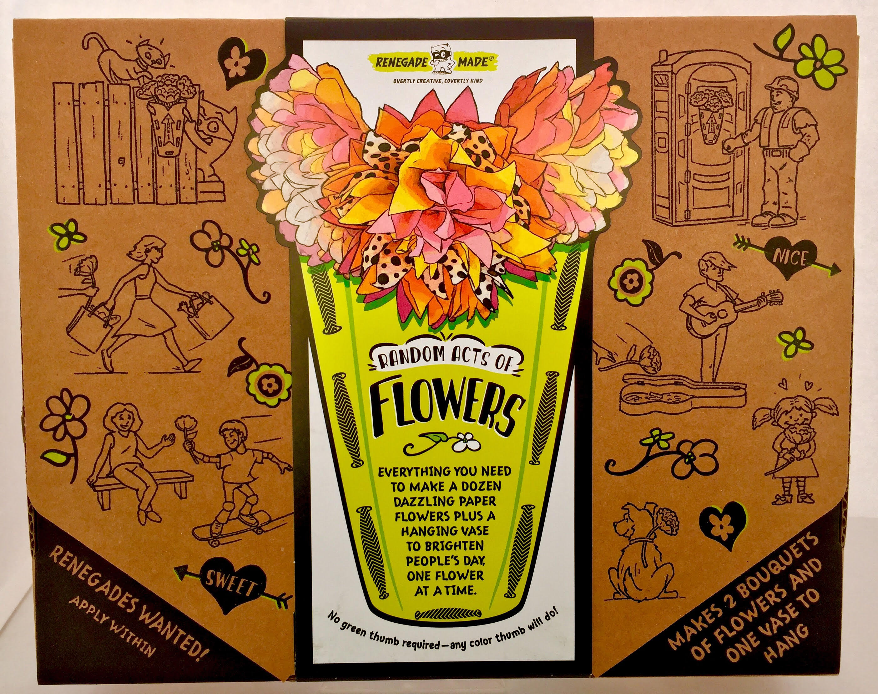 New Random Acts of Flowers Activity Kit Encourages Altruism in Kids