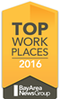 RiseSmart Named Bay Area Top Workplace for 3rd Consecutive Year