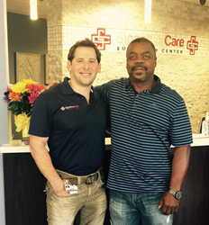 SignatureCare Emergency Center- Dr. Braun and Derrick Crawford