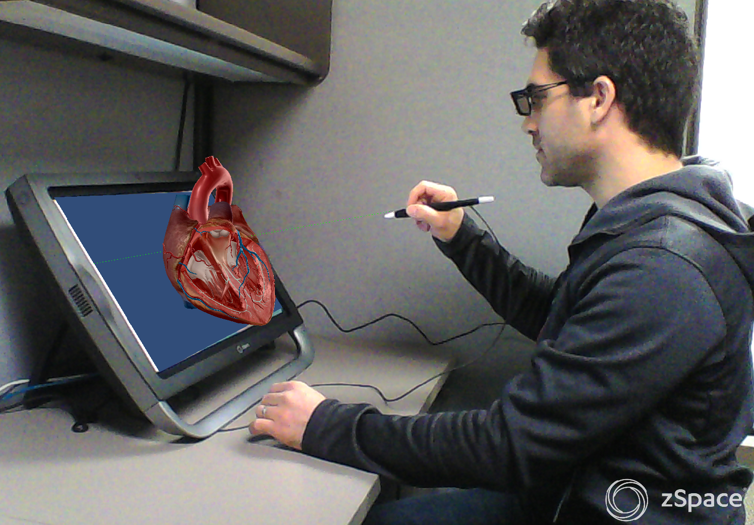 1895e1c14271 Human Anatomy Comes to Life in 3D Through New Partnership Between Visible  Body and zSpace Announced at ISTE 2016