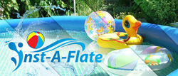 Inst-A-Flate allows people to go on vacation without worrying about the small details.