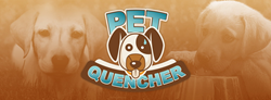 The Pet Quencher is a pet invention that helps aid pets in drinking a lot of water.