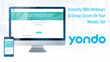 Yondo Webinar App on Weebly