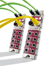 When building high I/O density applications, Balluff CC-Link IE field blocks with 8-IO-Link master ports can host 240 I/O points per node without compromising on speed or performance.