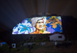 Christie Roadster Series Projectors Light Up Kanke Dam to Honor Indian Folk Hero Birsa Munda