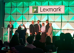 Lexmark Award to RJ Young
