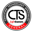AGT Audio Visual Experts Achieve InfoComm CTS, CTS-I Distinctions