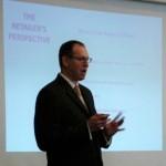 Jim Lewis leading Retail Merchant Class