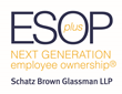 "ESOP Plus®: Schatz Brown Glassman LLP Wins M & A Award for ""Excellence in ESOP Transaction Planning"""
