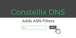 Constellix DNS Adds ASN Filters
