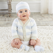 Whimsical and classic layette set from Baby Aspen is sure to be a hit baby gift at the shower!