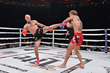 Monster Energy's Kevin Ross wins by unanimous decision in the kickboxing featherweight bout at Bellator: Dynamite 2