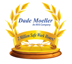 Dade Moeller, an NV5 Company, passed 2,000,000 safe work hours without an OSHA recordable injury.