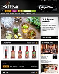 Tastings.com Home Page