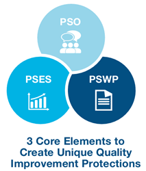 PYA's Patient Safety Organization Advisory team provides a broad range of PSO-related services that help establish and promote best practices, enhance quality initiatives, support performance improvement, reduce healthcare costs, and decrease enterprise r