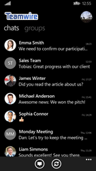 Teamwire's Enterprise Messaging App for Windows Phone