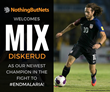Soccer Star Mix Diskerud Teams Up with Nothing But Nets to Fight Malaria