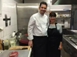 Chef Jodi with Chef Frank Fuchs