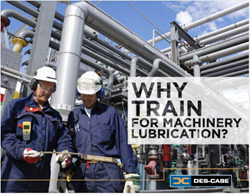 Why Train for Machinery Lubrication ebook cover