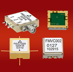 New Coaxial and Surface Mount Voltage Controlled Oscillators from Fairview Available Off-the-Shelf from Stock