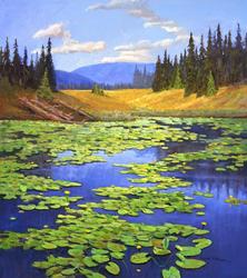 Mel Fillerup's Yellowstone Lilies, 2004