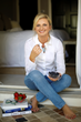 Author/Expert Natalia Levey enjoys a Healthy Snack!