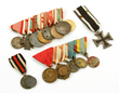 Lot of WWI German Military Medals
