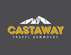 Castaway Travel Hammocks logo in Black and Gold
