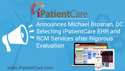 Michael Brosnan DC Selecting iPatientCare EHR and RCM Services
