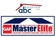 ABC Roofing, Inc. is proud to announce their selection as a GAF Master Elite Roofing Contractor