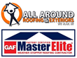 All Around Roofing & Exteriors earns GAF Master Elite Roofing Contractor Certification