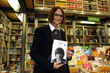 "Julia Baird, sister of rock legend John Lennon, poses during the presentation of her book ""Imagine This, Io e mio fratello"" (Imagine This, me and my brother), in Brescia, northern Italy."