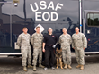 "Blinded Iraq War Veteran & Explosive Ordinance Disposal Team LeaderCelebrates Independence Day and Six Years of Increased Independence with Fidelco Guide Dog ""Legend"""