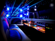 Inside the 8 Passenger Limousine