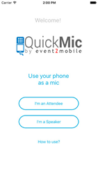Quickmic - Audience Response App