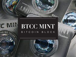 BTCC Mint Bitcoin Block Official Graphic